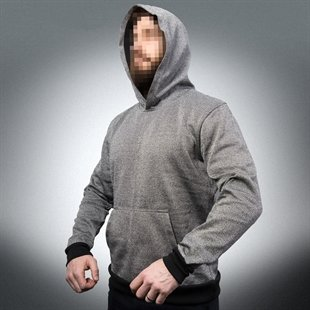 EA Slash Resistant Hoodie with Kangaroo Front Pocket