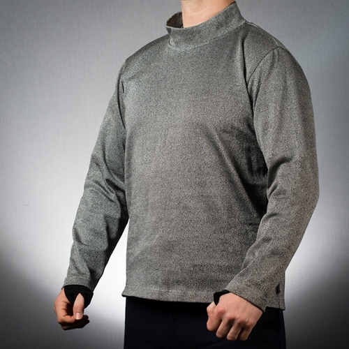 EA Slash Resistant Turtleneck Sweatshirt with Thumbholes